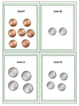 Coins Scavenger Hunt with a Coins Poster