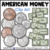 Coins US Money Clip Art