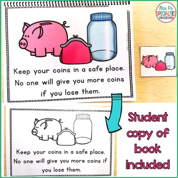 Coins Math Unit for Special Education (Hands On Money Unit For Autism Classes)
