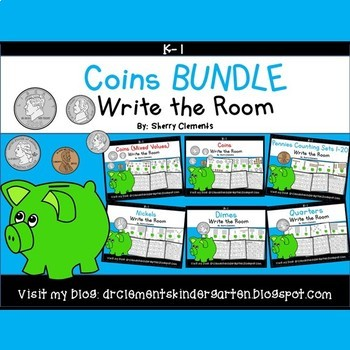 Coins Write the Room BUNDLE