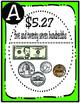 Coins and Bills Scavenger Hunt (TEKS 3.4C and 4.2E)
