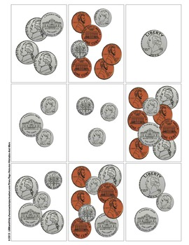 Spring Math: Coins and Money {Page Protector Printables}