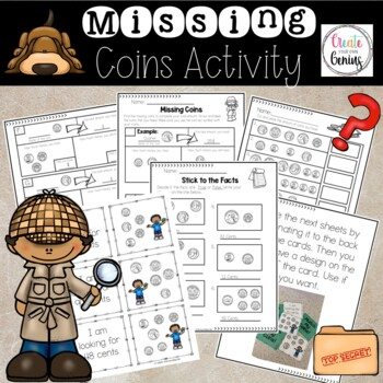 Coins and Money- Bundle pack detective theme