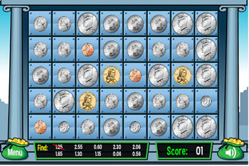 Coins and Money Interactive Computer Games Package from MrNussbaum.com