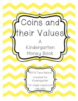 Coins and Their Values - A Kindergarten Money Book