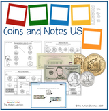 Identifying Coins and Bills US