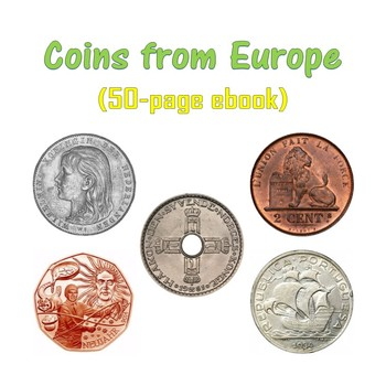 Coins from Europe (ebook)