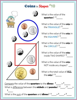 Coins in Shapes (Money)