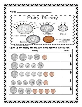 Cointing Coins (Quarters, Dimes, Nickels, and Pennies)