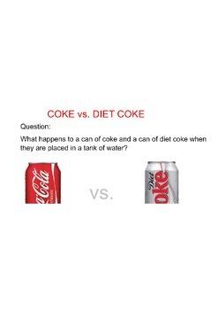 Coke vs. Diet Coke