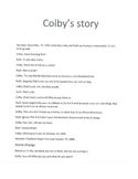 Colby's Story