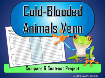 Cold-Blooded Animals Venn