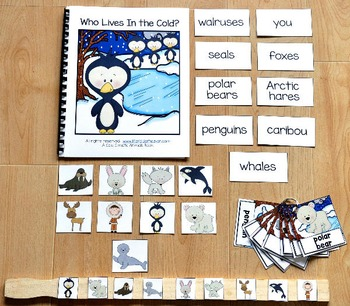 Cold Climate Animals Adapted Book