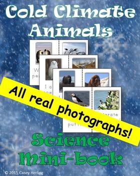 Cold Climate Animals Science Mini-book