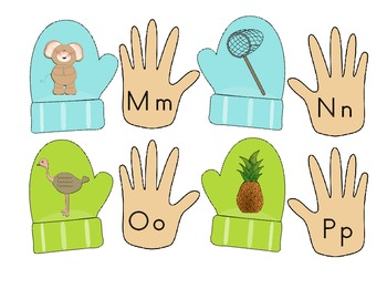 Cold Hands, Warm Mittens! Winter Math and Literacy Activities
