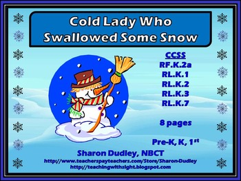 Cold Lady Who Swallowed Some Snow Package