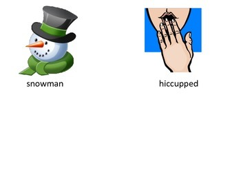 Cold Lady Who Swallowed Some Snow Sequencing