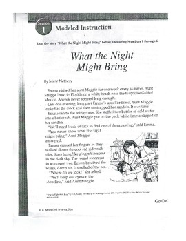 Cold Read-What Night Might Bring