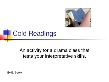Cold Readings