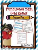 Cold Reads: Functional Text Packet 5