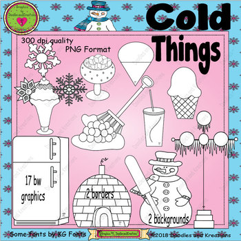 Cold Things ClipArt