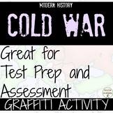 Cold War Graffiti Activity EDITABLE