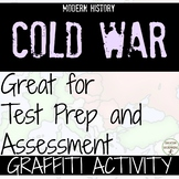 Cold War One Pager Graffiti Activity EDITABLE