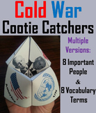 Cold War Unit Activity: Leaders and Terms Foldable
