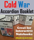 The Cold War Unit Activity/ Interactive Notebook Foldable
