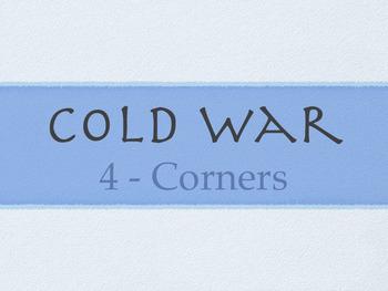 Cold War - 4-Corners Activity