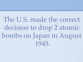 Cold War - 4-Corners Activity