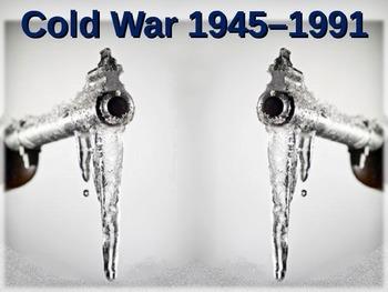 Cold War (40s-50s) Korean War - engaging, highly visual PPT