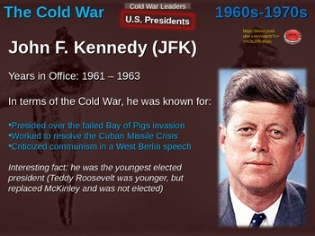 Cold War (60s-70s) COLD WAR LEADERS (20 slide PPT)