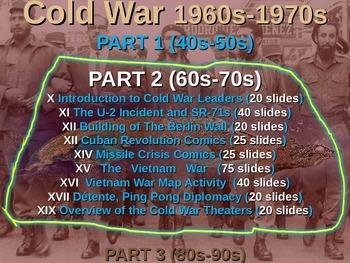Cold War (60s-70s) CUBAN REVOLUTION COMIC STRIP ACTIVITY (25 slide PPT)