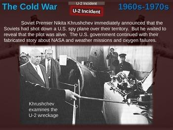 Cold War (60s-70s) U-2 INCIDENT & SR-71s (40 slide PPT)