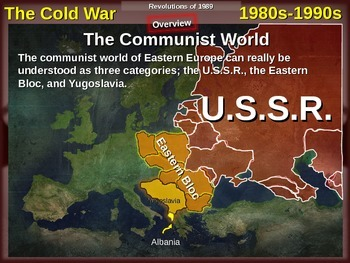 Cold War (80s-90s) PART 3 - Revolutions of 1989, Fall of t