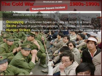 Cold War (80s-90s) PART 4 - Tianenmen Square Incident
