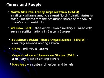 Cold War: Alliances