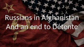 Cold War:  An End to Detente