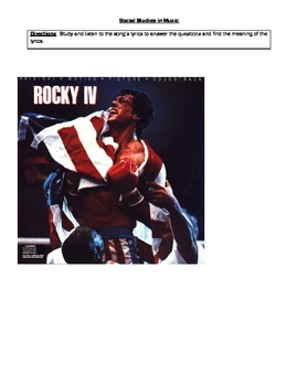 """Cold War: Analying Rocky's Song """"Burning Heart"""" songs meaning w/ the Cold War"""