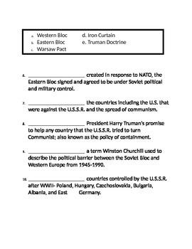Cold War Assessment