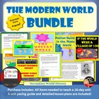 The Modern World  BUNDLE (World History) Common-Core Aligned!
