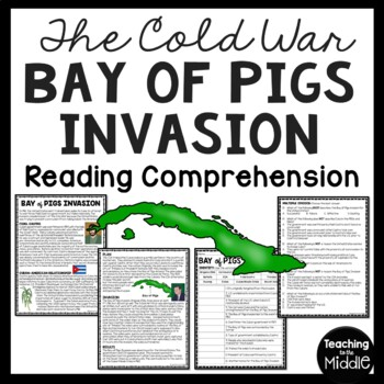 Cold War- Bay of Pigs Reading Comprehension Worksheet, Cub