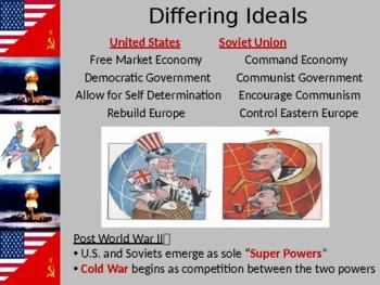 Cold War Begins 1950's PPT