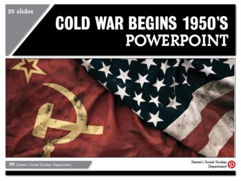 Cold War Begins 1950's PPT