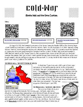 Cold War: Berlin Wall & the Iron Curtain