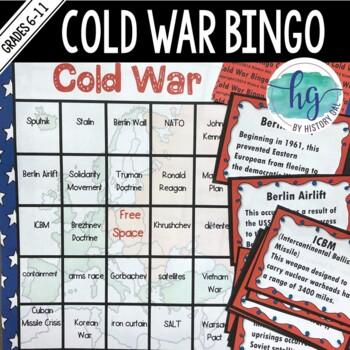 Cold War Bingo