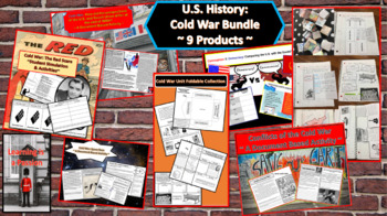 Cold War Bundle  ~4 Complete Lessons on the Cold War~
