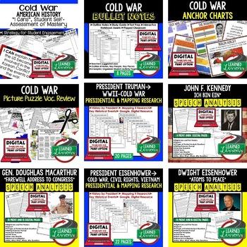 US History Cold War BUNDLE (American History Bundle)