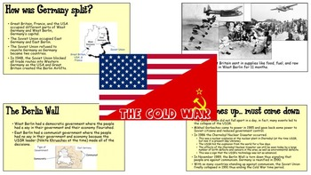 Cold War: Causes, Events, and Aftermath
